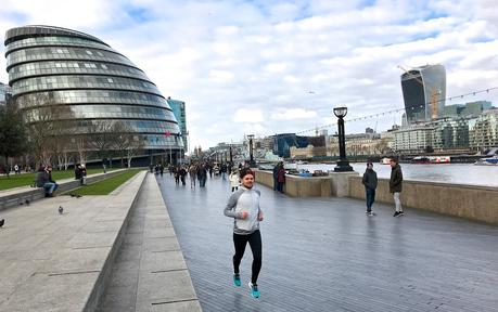 London Thames Themse Laufen Running City Hall