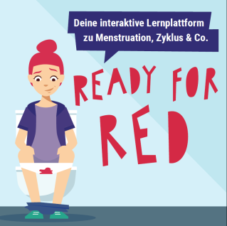 READY FOR RED: digitale Menstruationsaufklärung