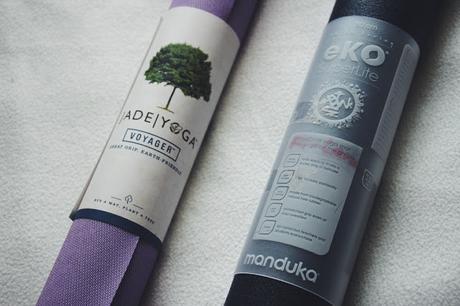 Test: Yogamat - Jade Yoga vs. Manduka