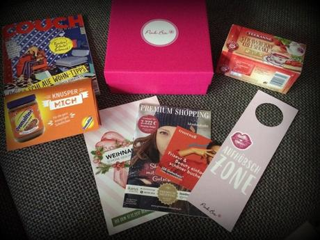 #Pinkbox – MeTime – November 2017 – #unboxing