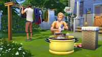Die Sims 4 - Waschtag-Accessoires