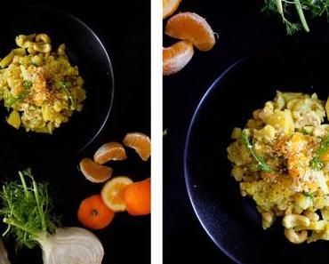 Blumenkohl-Kartoffel Curry mit einer extra Portion Fenchel