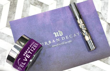 |Review| Urban Decay Velvetizer Powder & All Nighter Concealer (versus Shape Tape)