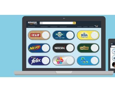 Amazons virtuelle Dash Buttons auch in Deutschland