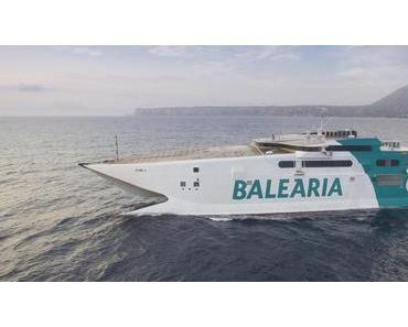 Bald auch mit Balearia von Mallorca nach Ibiza