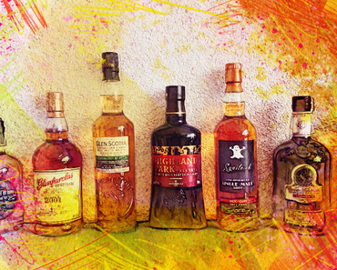 Kandidaten für das Whisky-Tasting vom 28. April 2018, 17 Uhr in Luzern