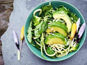 Grüner Göttinnen Salat und ein Update