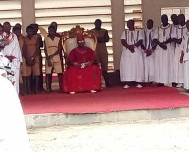 Der König von Benin wird aktiv gegen Menschenhandel aus Nigeria
