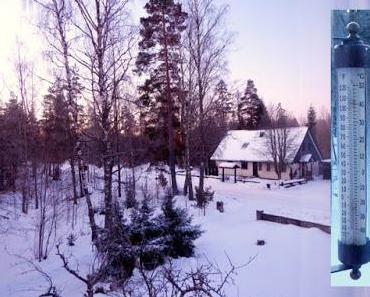Dänisches Sturmglas bei minus 20 Grad im Dauertest
