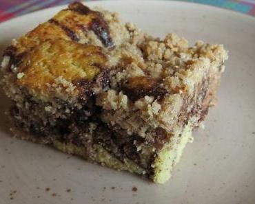 Knuspriger Birnen-Schokoladen-Kuchen