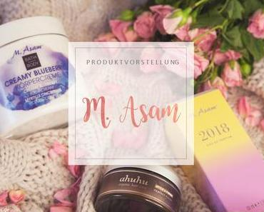 M. Asam - Creamy Blueberry / 2018 Parfum / ahuhu Perfect Finish