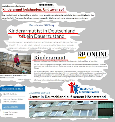 Der Kampf gegen Kinderarmut - Made by Merkel & Co.