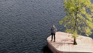 Schwimmende Parks erobern Kopenhagens Gewässer