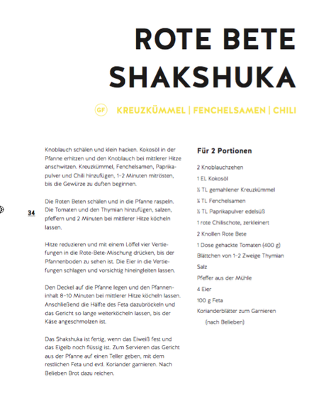 Shakshuka Rezept Kiss the cook Lauras Deli Laura Koerner Clean Eating