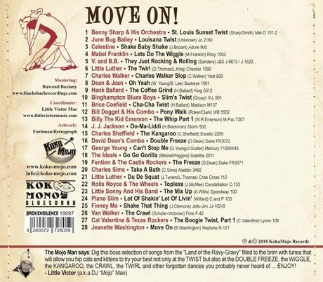 Move on! – Vernacular Dances Off The Dance Track (Compilation)