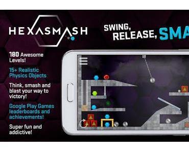 Hexasmash Pro – Wrecking Ball Physics Puzzle, Message Quest – adventure und 33 weitere App-Deals (Ersparnis: 73,44 EUR)
