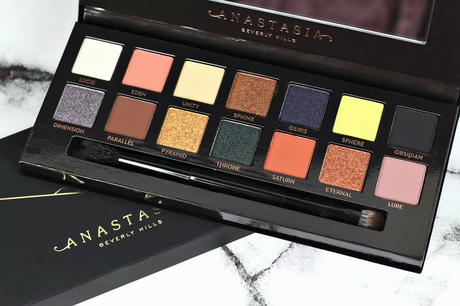 |2 LOOKS 1 PALETTE| ANASTASIA BEVERLY HILLS PRISM - REVIEW