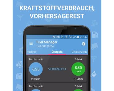 Fuel Manager Pro (Verbrauch), Blitzer.de PLUS und 23 weitere App-Deals (Ersparnis: 35,33 EUR)