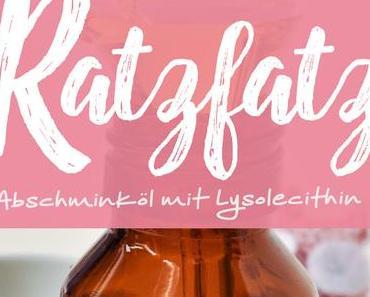 »Ratzfatz« Abschminköl mit Lysolecithin