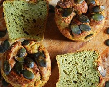 Kartoffel-Kürbiskern-Muffins mit Hanföl [Alternative Mehl & Öle]