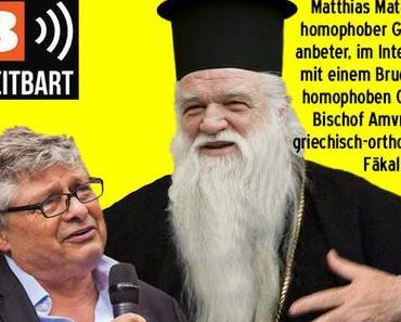 Homosexualität / Matthias Matussek interviewt homophoben Bruder im Geiste