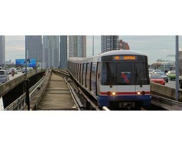 150 Sehenswürdigkeiten mit Bangkoks BTS Skytrain und MRT Metronetz
