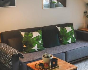 Mein neuer Wohnbereich  in Grau und Grün + Interview mit home24 Chefeinrichter Steven Schneider