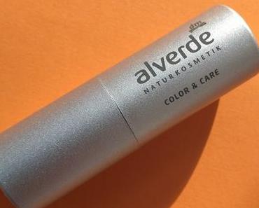 [Werbung] alverde Color & Care Lippenstift 03 Rosy Nude