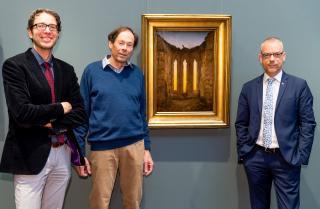 """Neuer Caspar David Friedrich für die Hamburger Kunsthalle: """"Ruine Oybin"""" als Dauerleihgabe"""