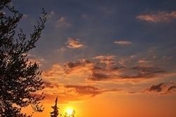 Wochenbeginn, Verwaltungskram und eine Abendsonne