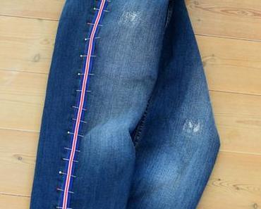 Pimp your Jeans – Galonstreifen selbst annähen