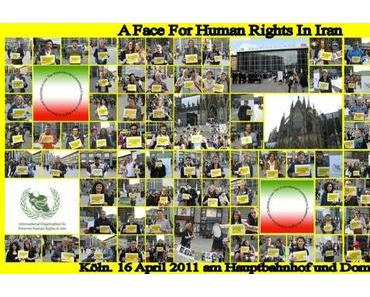 Cologne: faces for human rights in Iran