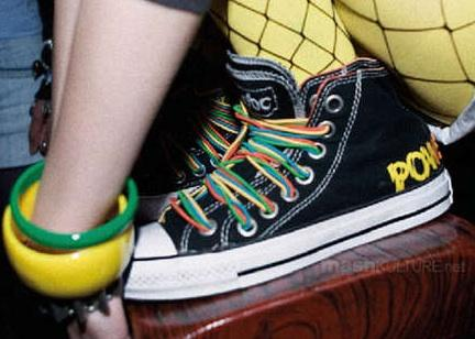 Converse AC/DC Powerage All Star Chucks