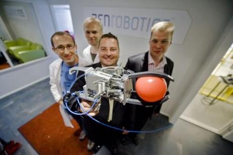 intelligenter recycling-roboter