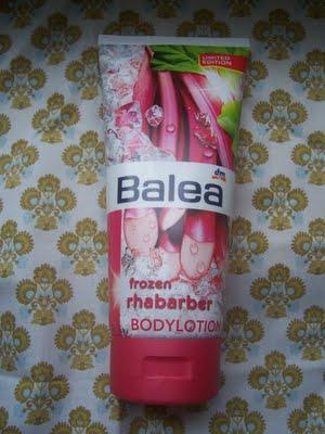 Frozen Rhabarber Bodylotion - Balea limited