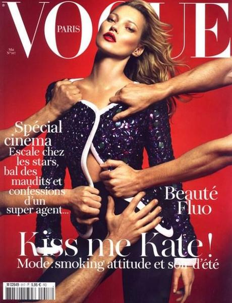 Kiss me Kate - Vogue Paris Cover Mai 2011