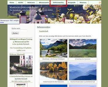Sehenswertes – Neu in der Mariazellerland Blog Titelleiste
