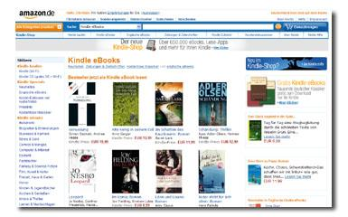 [News] Amazon hat Kindle Shop gestartet