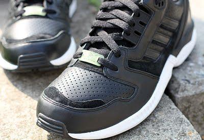 aada178ff556a5 ... adidas zx 8000 schwarz leder ...