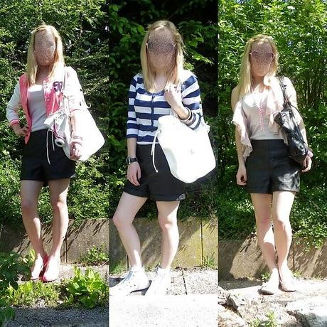 How to wear: Leather Shorts | Casual