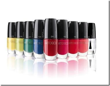 Ceramic Nail Lacquer ARTDECO 11.xx Gruppe All about Lacquers