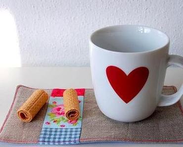 Mug Rug. Kaffeepottuntersetzer.