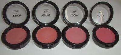 NYX Cream Blush Update