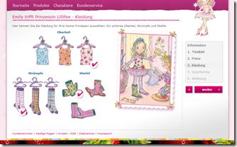 Ein personalisiertes Prinzessin Lillifee Buch vom Coppenrath Verlag