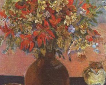 Ein kätzischer Muttertagsgruß von Paul Gauguin