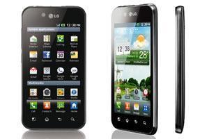 LG Optimus Black: 4 Zoll Nova-LCD und Android Froyo.