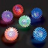 Blinkende Spikey Ball - Menge 3
