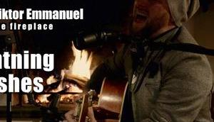 Georg Viktor Emmanuel live fireplace Lightning Crashes (Acoustic Cover) [Video]