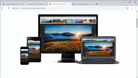 Neues Design für Googles Browser Chrome
