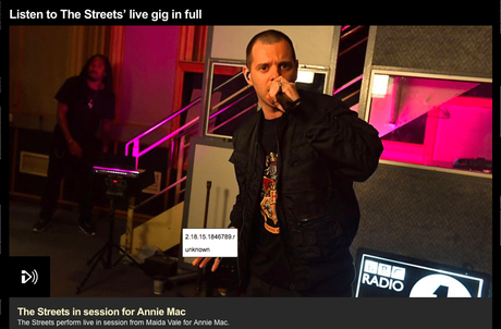 The Streets Live @ BBC Radio 1